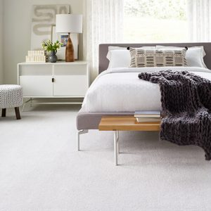White Carpet flooring | Brooks Flooring Services Inc