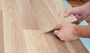 Laminate installation | Brooks Flooring Services Inc
