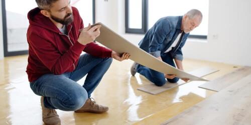 Vinyl installation | Brooks Flooring Services Inc