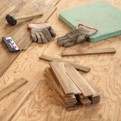 Subfloor repair services | Brooks Flooring Services Inc