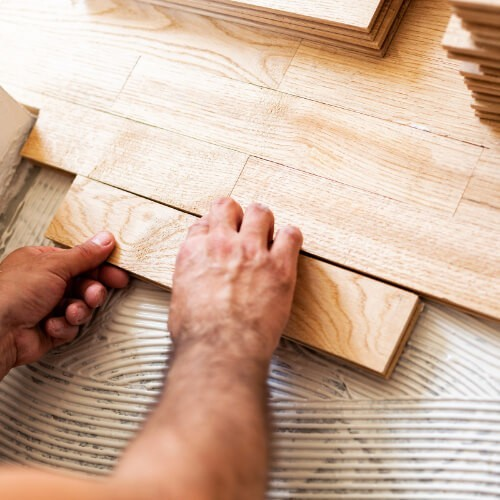 Hardwood installation | Brooks Flooring Services Inc